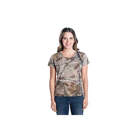 Code Five 3685 Ladies' REALTREE Camouflage T-Shirt