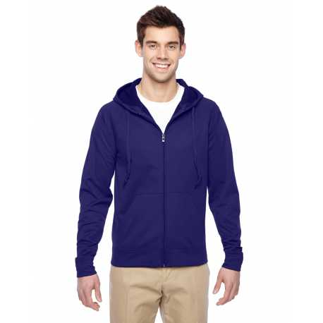 Jerzees PF93MR Adult 6 oz. DRI-POWER SPORT Full-Zip Hooded Sweatshirt