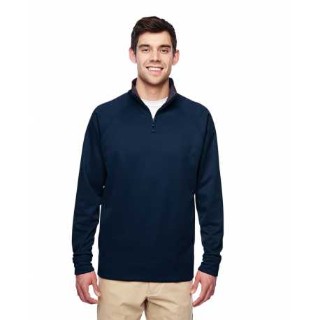 Jerzees PF95MR Adult 6 oz. DRI-POWER SPORT Quarter-Zip Cadet Collar Sweatshirt