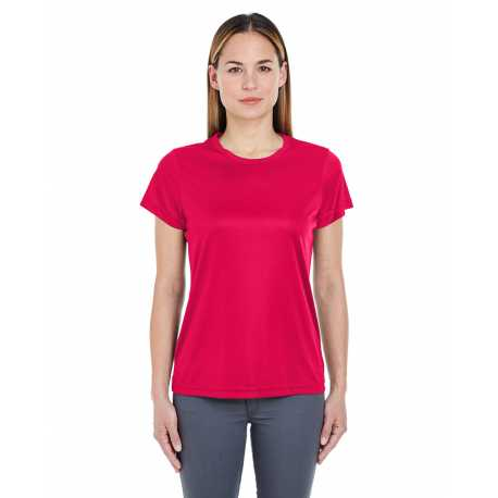 Lat 3577 Ladies Combed Ringspun V-neck 3/4 Sleeve T-shirt