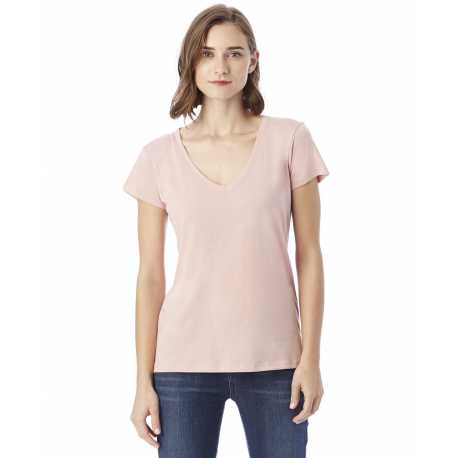Bella 6425 Ladies 4.2 Oz. Missy 3/4 Sleeve V-neck Jersey T-shirt