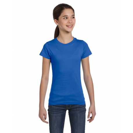 Bella 8701 Ladies 4 Oz. Sheer Rib T-shirt
