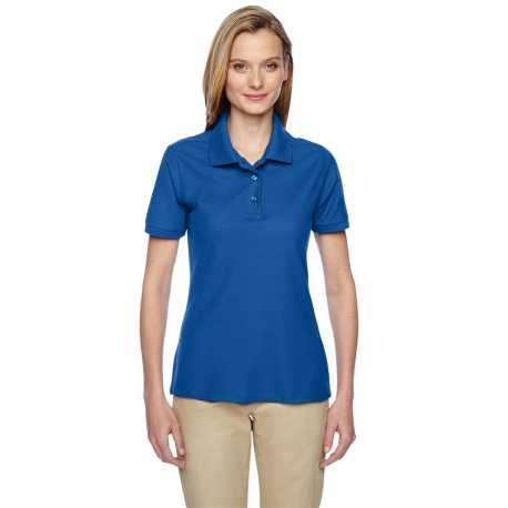 Adidas Golf A85 Ladies Climalite Tour Pique Short Sleeve Polo
