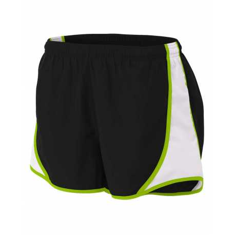 """A4 NW5341 Ladies' 3"""" Speed Shorts"""