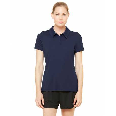Harriton M355 Mens Side Blocked Micro Pique Polo