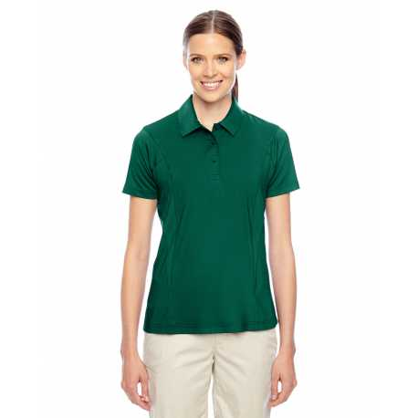 Harriton M500sw Ladies Short Sleeve Twill Shirt With Stain Release