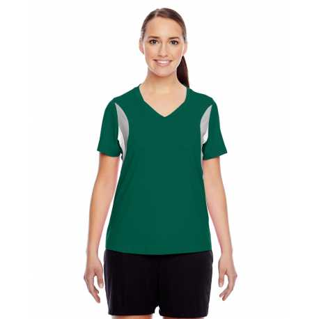 Harriton M500w Ladies Long Sleeve Twill Shirt With Stain Release