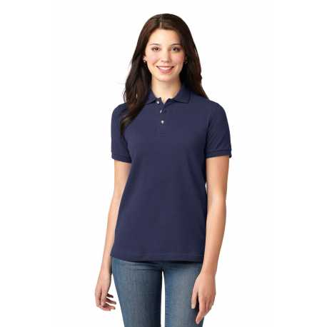 Anvil 1441 Ladies 1x1 Rib Scoop Neck T-shirt