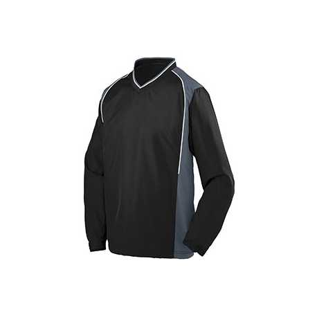 Augusta Sportswear 3746 Youth Water Resistant Polyester Diamond Tech V-Neck Pullover