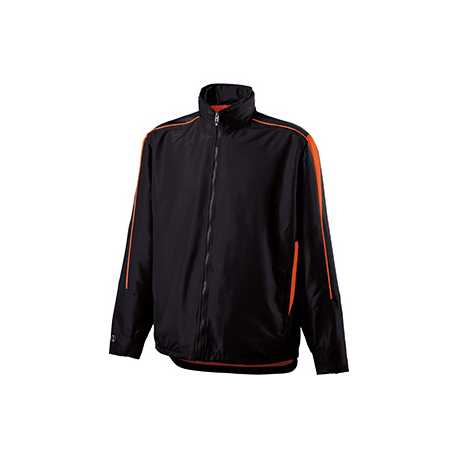 Holloway 229262 Youth Polyester Full Zip Hooded Aggression Jacket
