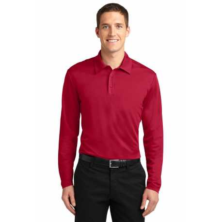 North End Sport Red 78659 Ladies Maze Performance Stretch Embossed Print Polo