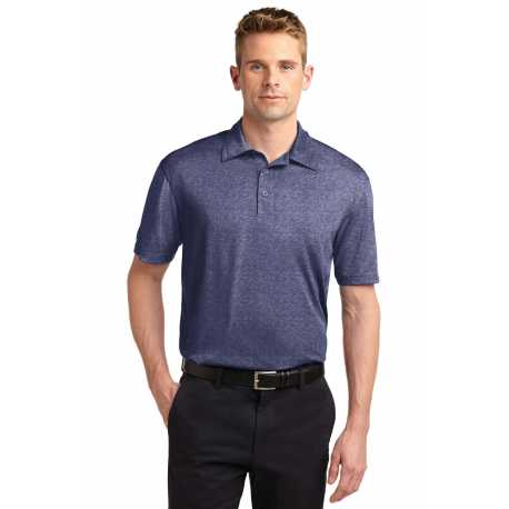 North End Sport Red 78668 Ladies Barcode Performance Stretch Polo