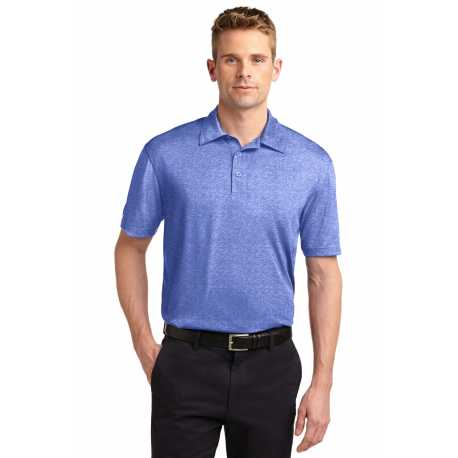 North End Sport Blue 78673 Ladies Boulevard Wrinkle-Free Two-Ply 80s Cotton Dobby Taped Shirt with Oxford Twill