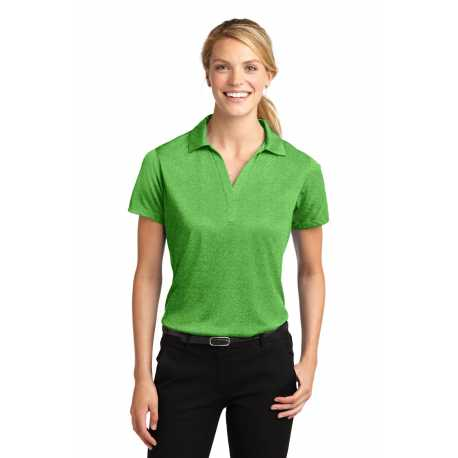 North End Sport Red 78675 Ladies Charge Recycled Polyester Performance Short-Sleeve Shirt