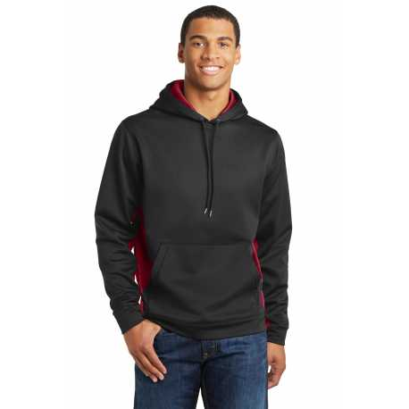 North End Sport Red 88660 Mens Evoke Bonded Fleece Jacket