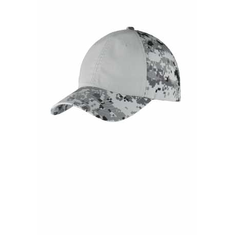 Big Accessories BX034 5-Panel Brushed Twill Cap