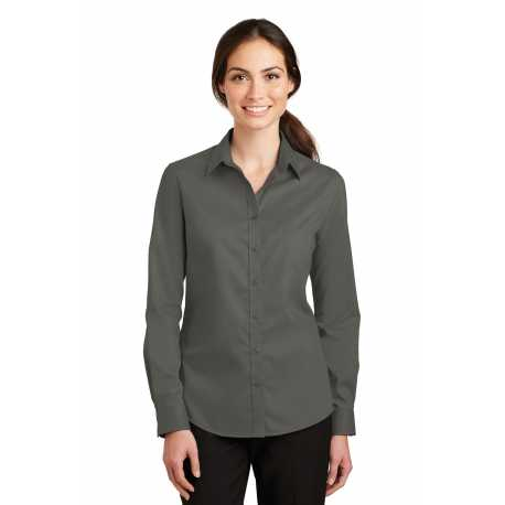 Devon & Jones DG530W Ladies Crown Collection Solid Stretch Twill
