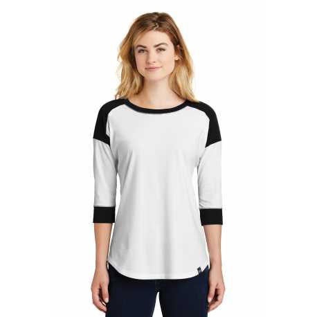 Badger 4173 Ladies' Tonal Blend Quarter-Zip Long-Sleeve Pullover