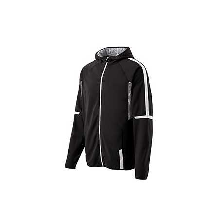 Holloway 229251 Youth Polyester Full Zip Hooded Fortitude Jacket