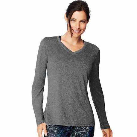UltraClub 8422 Adult Cool & Dry Sport Long-Sleeve Performance Interlock T-Shirt