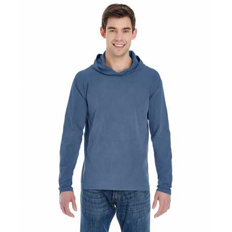 Comfort Colors 4900 Adult 6.1 oz. Long-Sleeve Hooded T-Shirt