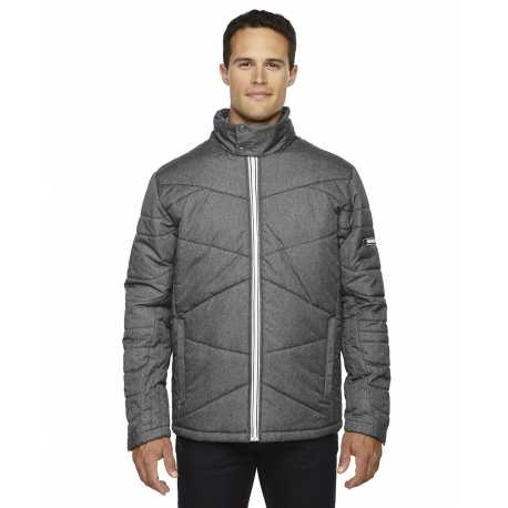 North End Sport Blue 88698 Men's Avant Tech Melange Insulated Jacket with Heat Reflect Technology