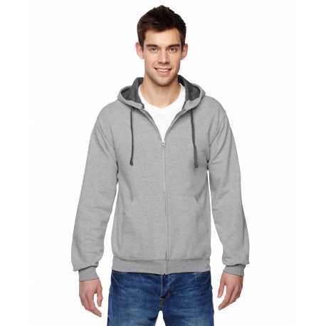 Fruit Of The Loom SF73R Adult 7.2 oz. Sofspun Full-Zip Hooded Sweatshirt
