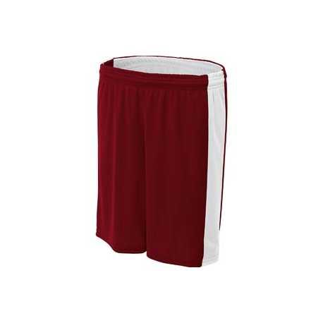 A4 NW5284 Ladies' Reversible Moisture Management Shorts
