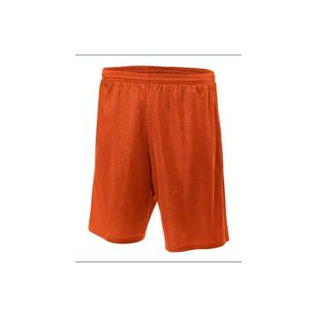 A4 N5296 Adult Nine Inch Inseam Mesh Short
