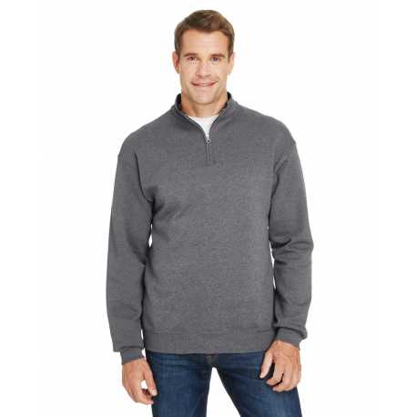 Fruit Of The Loom SF95R Adults 7.2 oz. Sofspun Quarter-Zip Sweatshirt