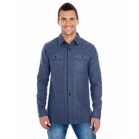Burnside BU8200 Men's Solid Flannel