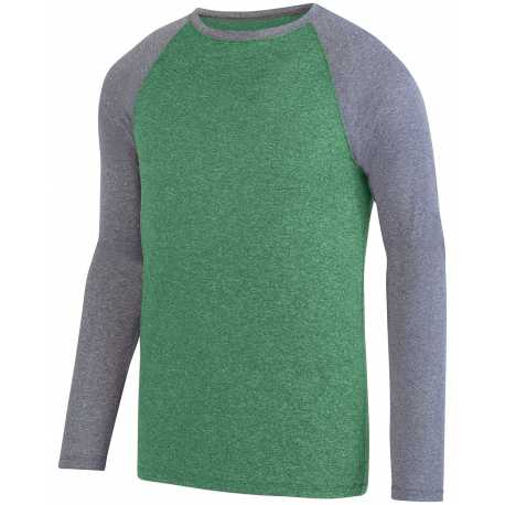 Augusta Sportswear 2815 Unisex Kinergy Two Color Long Sleeve Raglan T-Shirt