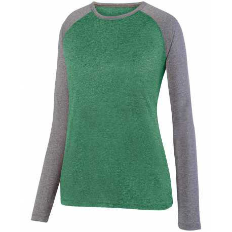 Augusta Sportswear 2817 Ladies' Kinergy Two Color Long Sleeve Raglan T-Shirt