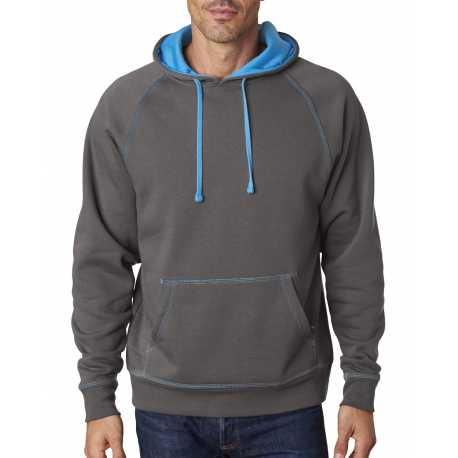 J America JA8883 Adult Shadow Fleece Pullover Hood