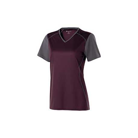 Holloway 222301 Ladies' Polyester Short Sleeve Piston Shirt