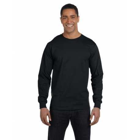 Hanes 5286 Men's 5.2 oz. ComfortSoft Cotton Long-Sleeve T-Shirt
