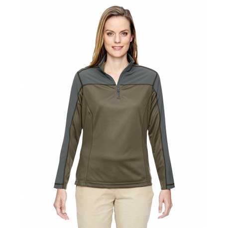 North End 78220 Ladies' Excursion Circuit Performance Quarter-Zip