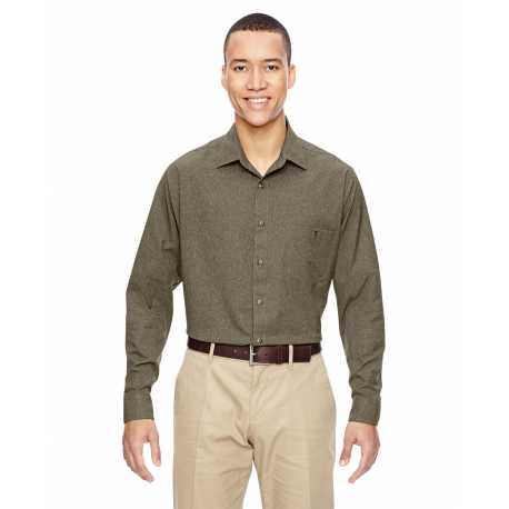 North End 87045 Men's Excursion Utility Two-Tone Performance Shirt