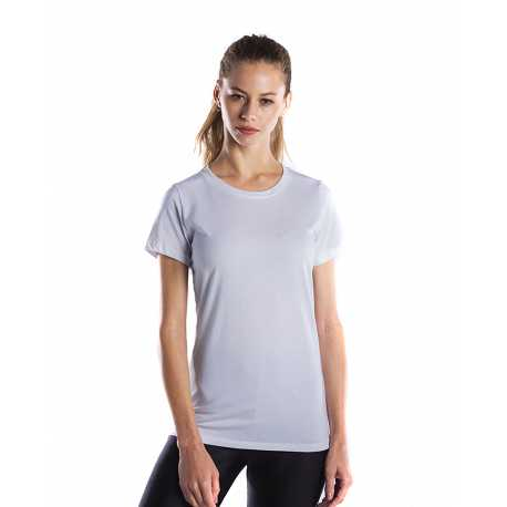 US Blanks US100GD Ladies' 4.5 oz. Short-Sleeve Garment-Dyed Jersey Crew