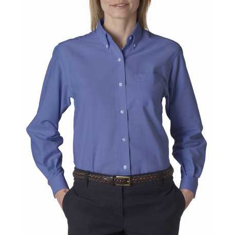 Van Heusen 59800 Ladies' Classic Long-Sleeve Oxford