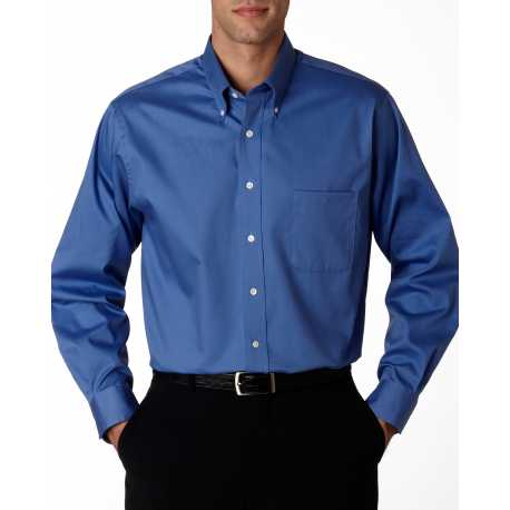 Van Heusen 56900 Men's Long-Sleeve Blended Pinpoint
