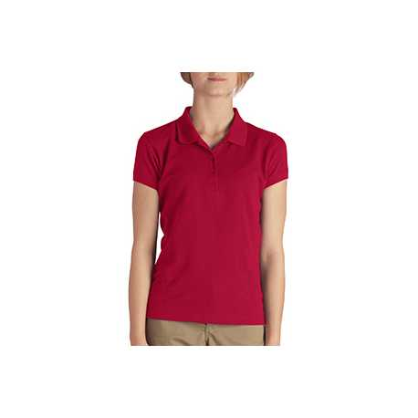 Dickies KS952 Girls' Short-Sleeve Performance Polo
