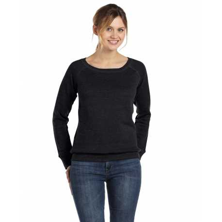 Bella + Canvas 7501 Ladies' Sponge Fleece Wide Neck Sweatshirt