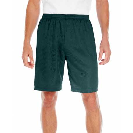 C2 Sport 5109 Adult 100% Polyester Mesh Tricot Nine Inch Inseam Short