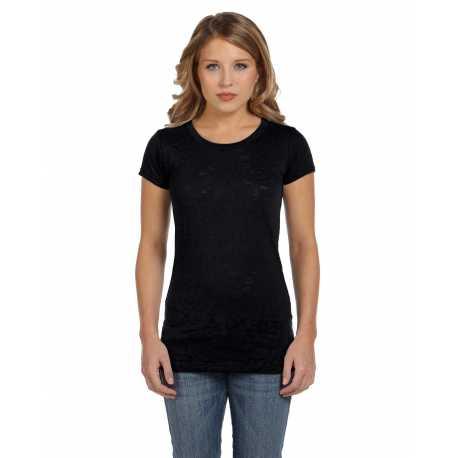 Bella + Canvas 8601 Ladies' Burnout Short-Sleeve T-Shirt