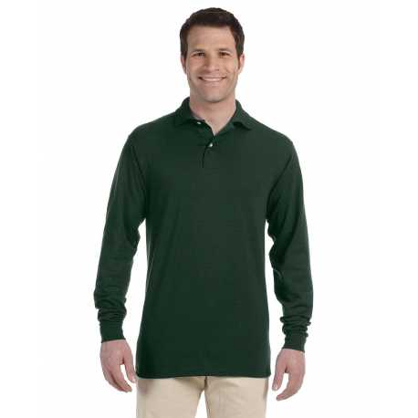 Jerzees 437ML Adult 5.6 oz., SpotShield Long-Sleeve Jersey Polo