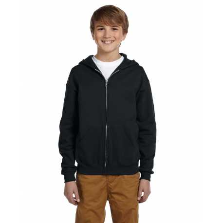 Jerzees 993B Youth 8 oz. NuBlend Fleece Full-Zip Hood