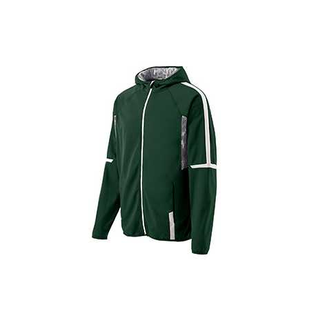 Holloway 229151 Adult Polyester Full Zip Hooded Fortitude Jacket