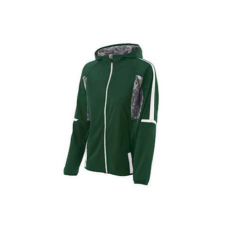 Holloway 229351 Ladies' Polyester Full Zip Hooded Fortitude Jacket