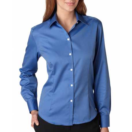 Van Heusen 13V0144 Ladies' Long-Sleeve Non-Iron Pinpoint